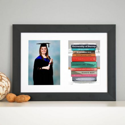 Personalised Graduation Framed Photo Print